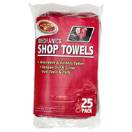 Tiger Accessory Group 3-5428 25PK RED Shop Towel