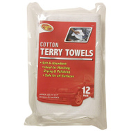 Tiger Accessory Group 3-685-58 12PK 14X17 Terry Towel