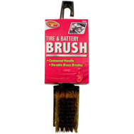 Tiger Accessory Group 4B3258 Small Brass Tire Brush