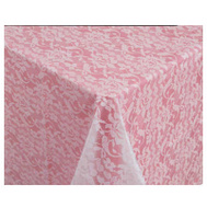 Creative Converting 013061 54X108 Lace Table Cover