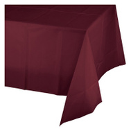 Creative Converting 703122 82 Inch Burg RND Table Cover