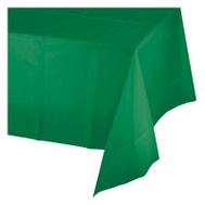 Creative Converting 703261 82 Inch GRN RND Table Cover