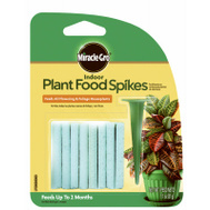 Miracle Gro 1002522 Food Plant Indoor Spikes 24Pk 24 Pack