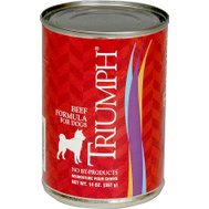 Sunshine Mills 6600200 Triumph Can Dog Food Beef 14 Ounce
