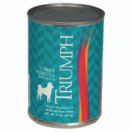 Sunshine Mills 6600201 Triumph Can Dog Food Turkey 14 Ounce