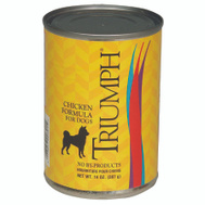 Sunshine Mills 6600391 Triumph Can Dog Food Chicken 14 Ounce