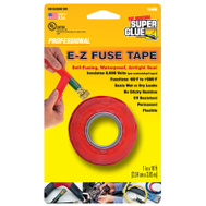 Super Glue Pacer Tech 15406-12 1X10 RED Silicone Tape