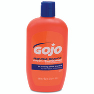 Gojo 0947-12 Natural Orange Smooth Hand Cleaner 14 Ounce