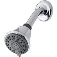 Waterpik® ETC-413E Showerhead 4-Setting Chrome