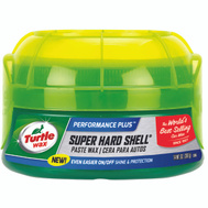 Turtle Wax T223R Super Hard Shell 9 1/2 Ounce Paste Car Wax
