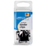 Acco S7071753 15 Count Assorted Binder Clips