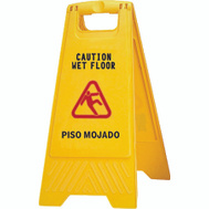 Zephyr Manufacturing 45100 Sign Wet Floor 2 Sided