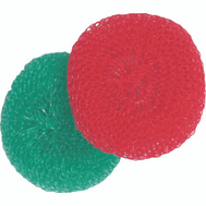 Birdwell Cleaning 366-48 Plastic Scourer Pad 2 Pack
