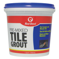 Red Devil 0424 Grout Tile Premix Paste Quart
