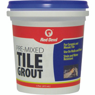 Red Devil 0428 Grout Tile Premix Paste Pint