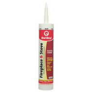 Red Devil 0466 Black Fireplace And Stove Repair Sealant 10 Ounce