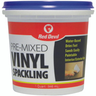 Red Devil 0534 Paint Master Compound Spackling Vinyl Quart