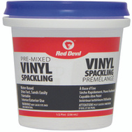 Red Devil 00124CA Compound Spackling Vinyl 1/2pt