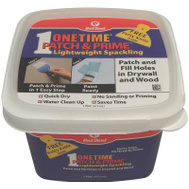 Red Devil 0540 Onetime Patch & Prime Lightweight Spackling 16 Ounce