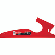 Red Devil 4049 Shield Paint Dual Edge 18In