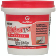 Red Devil 0572 One Time Compound Spackl Lt Weight.5Pt
