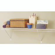 Closet Maid 1061 6 Foot By 12 Inch Shelf Kit