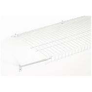 Closet Maid 108100 6 Foot By 16 Inch White All Purpose Shelf Kit