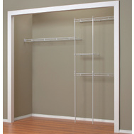 Closet Maid 1628 Wardrobe Organizer Kit 5-8Ft