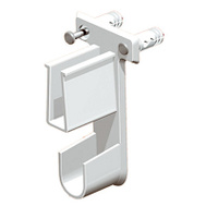 Closet Maid 660900 Superslide White End Bracket
