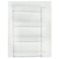 Closet Maid 803300 4 Shelf 18 Inch White Wall Rack
