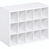 Closet Maid 898300 15 Pair White Shoe Organizer