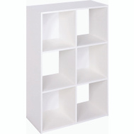 Closet Maid 899600 6 Cube White Stackable Storage