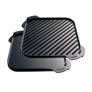 Lodge LSRG3 10 1/2 Inch Square Cast Iron Griddle