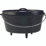 Lodge L12DCO3 Dutch Oven Camp 8Qt 5In Depth