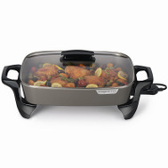 Presto 06856 High Sidewall Skillet With Glass Lid