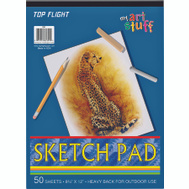 Top Flight 4807103 Sketch Pad 50# Drawing Paper