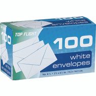 Top Flight 6900312 6 3/4 Inch Plain Envelopes