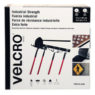 Velcro Brands VEL-30636-GLO Tape Velcro Black 2Inx49.2Ft