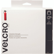 Velcro Brands 90197 Sticky Back Industrial Strength Hook And Loop Fastener Black 15 Foot By 2 Inch