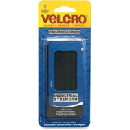 Velcro Brands 90199 Heavy Duty 4 Inch By 2 Inch Stick On Hook And Loop Fastener 2 Strip Pack