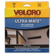 Velcro Brands 91100 1 By 10 Black Tape