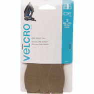 Velcro Brands 91754 One Wrap 7/8 Inch By 23 Inch Tan Ties Pack Of 3
