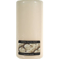 Candle Lite 2846250 6 Inch White Pillar Candle