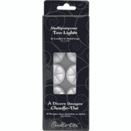 Candle Lite 1049595 10 Pack Tea Light Unscented