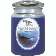 Candle Lite 1646033 19 Ounce BLU/Sand Candle