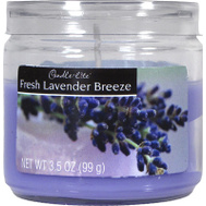 Candle Lite 2400404 3.5 Ounce Lavender Candle