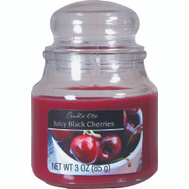 Candle Lite 3827565 3 Ounce Jar Blk Cherry