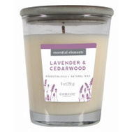 Candle Lite 4366353 9 Ounce Lav/Ceda Jar Candle