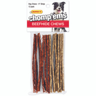 Westminster Pet 03171 Rawhide Munchy Playstrips 12Ct