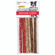 Westminster Pet 03172 Rawhide Munchy Play Twists 6Ct
